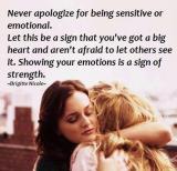 Feeling Sensitive?